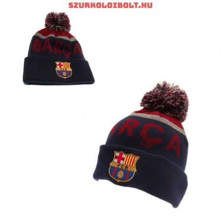 FC Barcelona bobble knitted hat - official ACM product