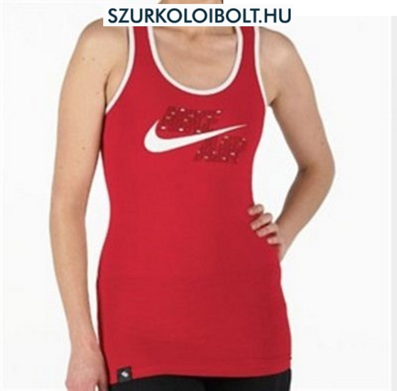 Nike Womens női top (piros) - Original football and NFL fan products ... d8afb98d8c