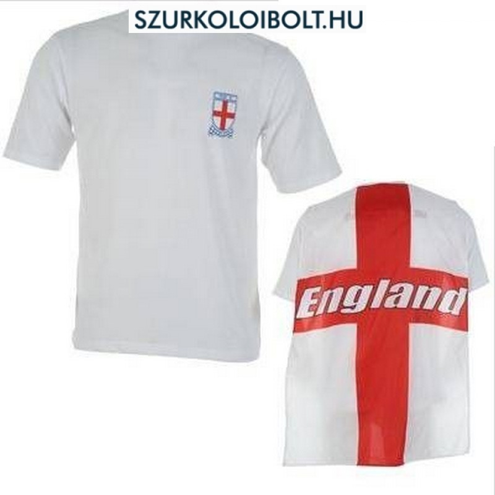 England junior T-shirt with a flag on the back - Original football ... 14e1f0190e