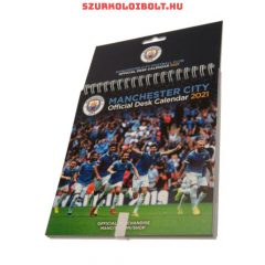 Manchester City FC Desktop Calendar, Official Merchandise