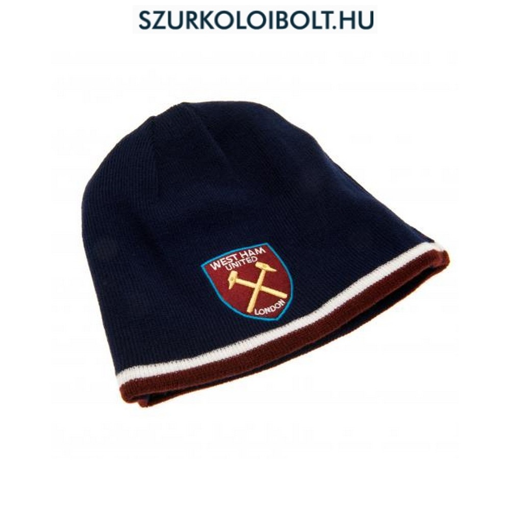 66114a839618c West Ham United F.C. Reversible Knitted Hat - Original football and ...