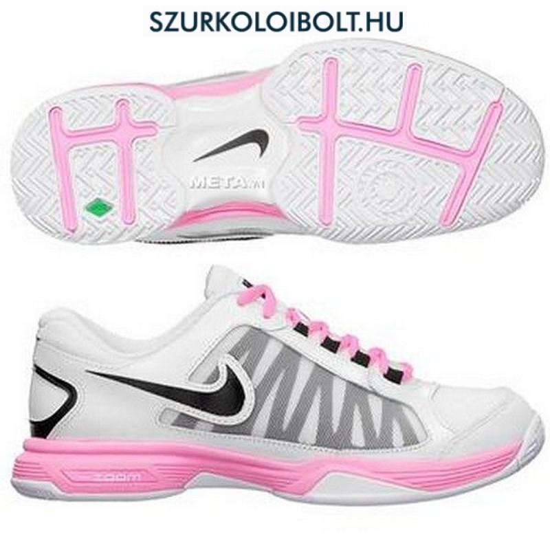 Nike Zoom Courtlite 3 White + Pink Women\u0027s Tennis Shoes