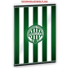 Ferencváros excercise book striped