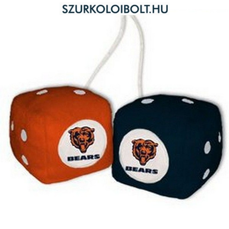 Chicago Bears fuzzy dice - Original football and NFL fan products ... 4ce09941c5