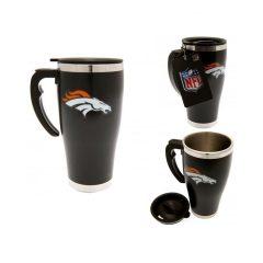 Denver Broncos Aluminium Travel Mug BL