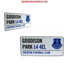 Everton FC Metal Street Sign