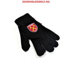 West Ham United knitted gloves - official merchandise