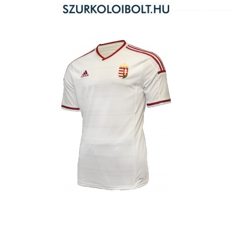 Adidas Hungary Home supporter Shirt (White) - Original football and ... 3d27a059f7