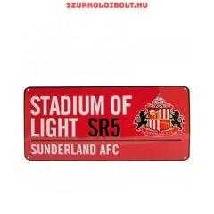 Sunderland AFC Metal Street Sign