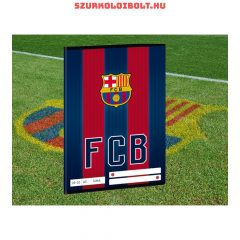 FC Barcelona plain excercise book  A/5 (20-32)