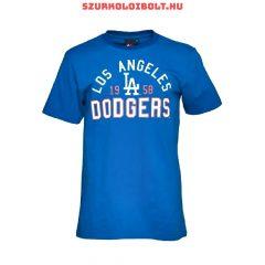Majestic Athletic Mens Dodgers Havlock T-Shirt Blue