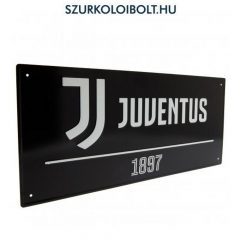 Juventus Metal Street Sign