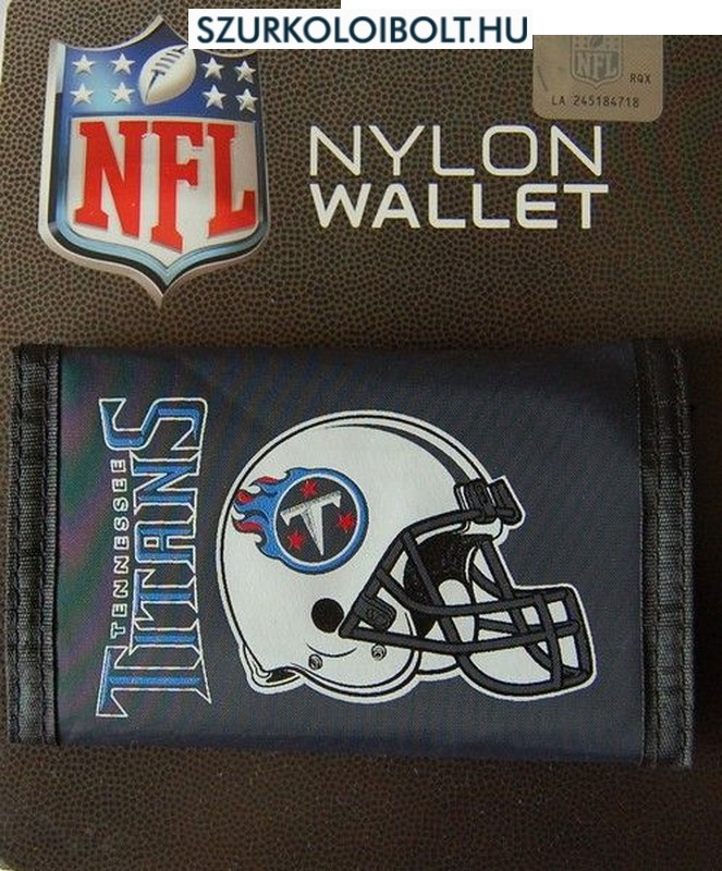 Wholesale Tennessee Titans Nylon Wallet Original football and NFL fan  hot sale