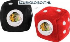 Chicago Blackhawks fuzzy dice