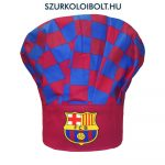 FC Barcelona supporter chef hat