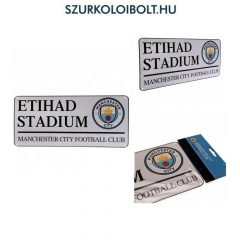 Manchester City FC Metal Street Sign