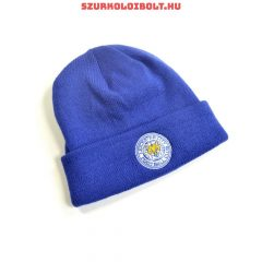 Leicester City bobble knitted hat - official Leicester City  product