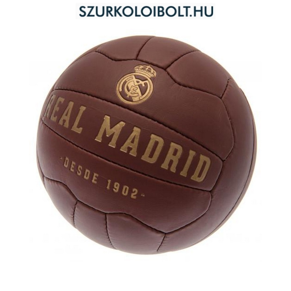 481a9206ce F.C. Real Madrid retro Football - Original football and NFL fan ...