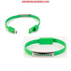 Ferencváros F.C. Silicone Wristband with an USB charger
