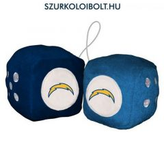 San Diego Chargers fuzzy dice