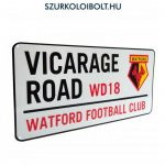 Watford FC Metal Street Sign