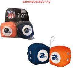 Denver Broncos fuzzy dice