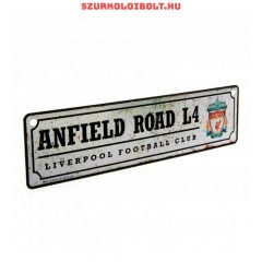 Liverpool FC Football Club Crest Metal Window Sign