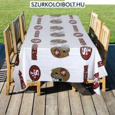 San Francisco 49ers vinyl table cover