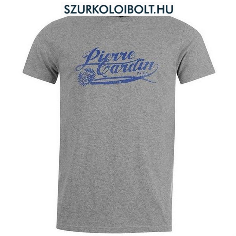 Pierre Cardin T-Shirt Mens silver - Original football and NFL fan ... f698697b47