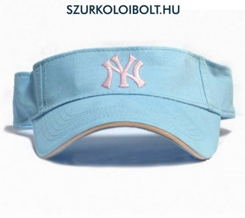 New York Yankees Light Blue Team Visor - Original football and NFL ... b5ff299b7e3