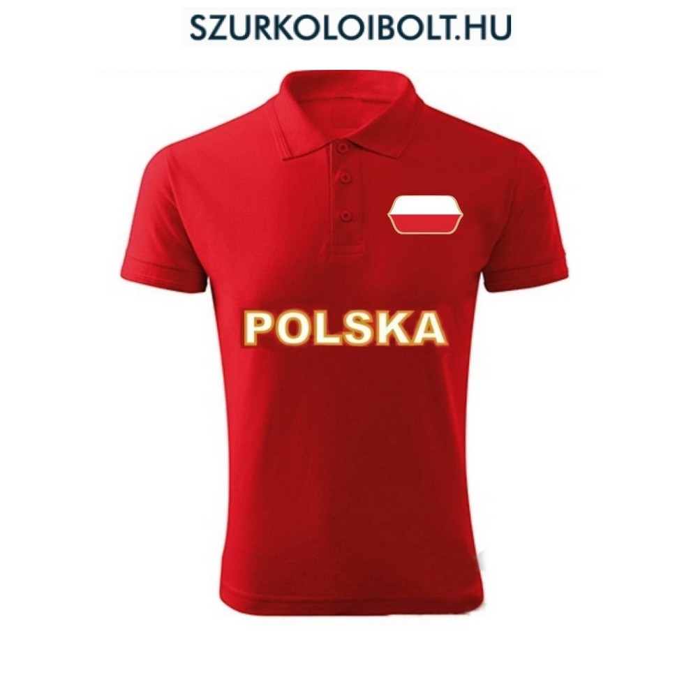 109613d3dd Poland T-shirt - Original football and NFL fan products for all ...