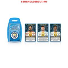 Manchester City Playing Top Trumps Cards