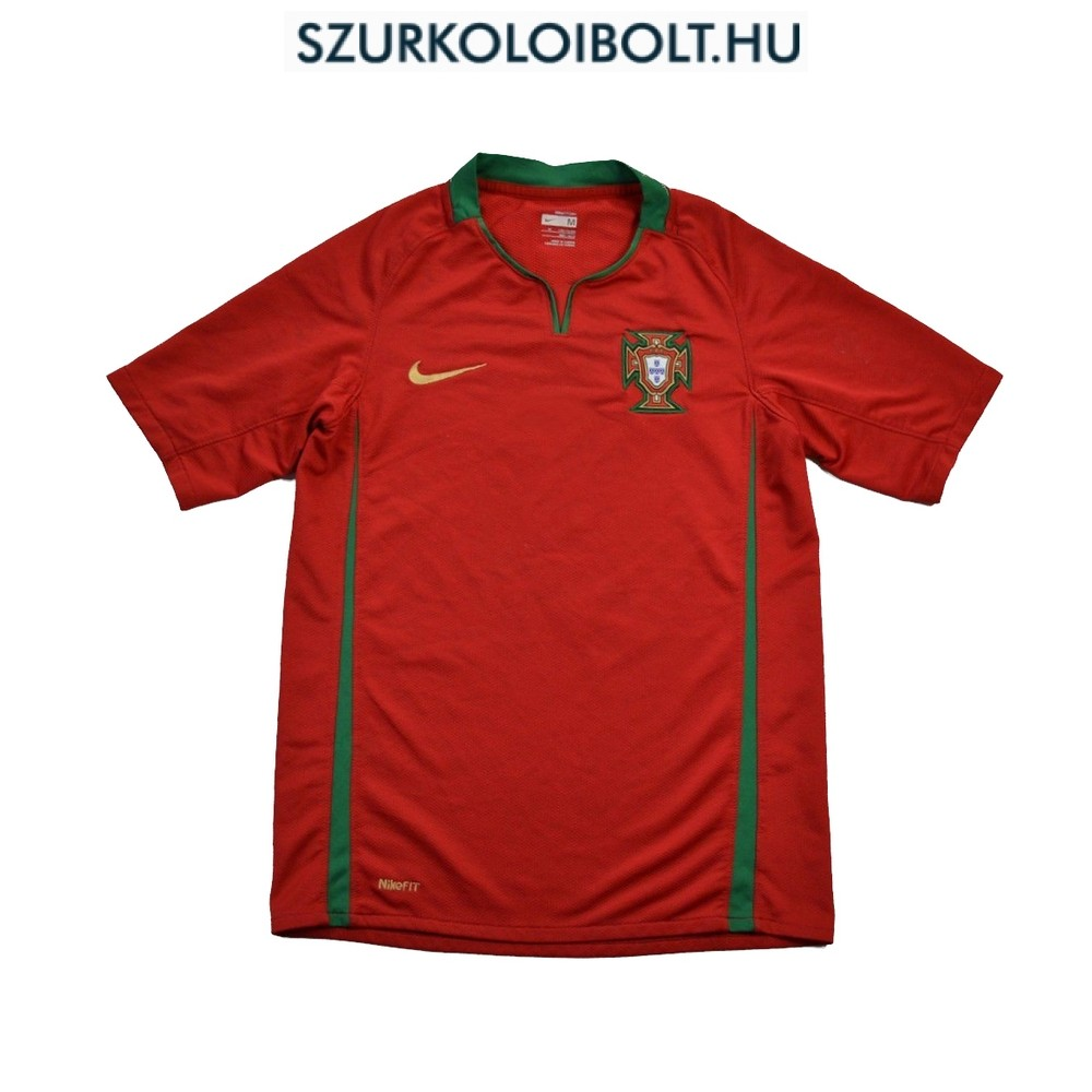 Nike Portugal Home Football Shirt - Original football and NFL fan ... 8afd48e55f