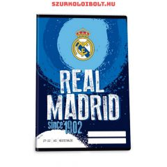 Real Madrid checked excercise book  A/5