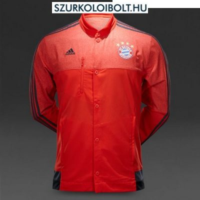 huge discount 06e79 1b890 BAYERN MUNICH ADIDAS BUTTON ANTHEM JACKET (RED)