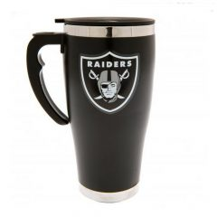 Oakland Raiders Aluminium Travel Mug BL