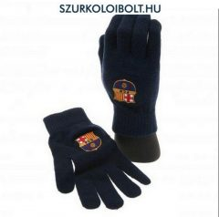 FC Barcelona knitted gloves - official merchandise