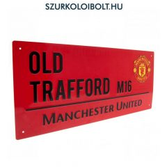 Manchester United FC Metal Street Sign