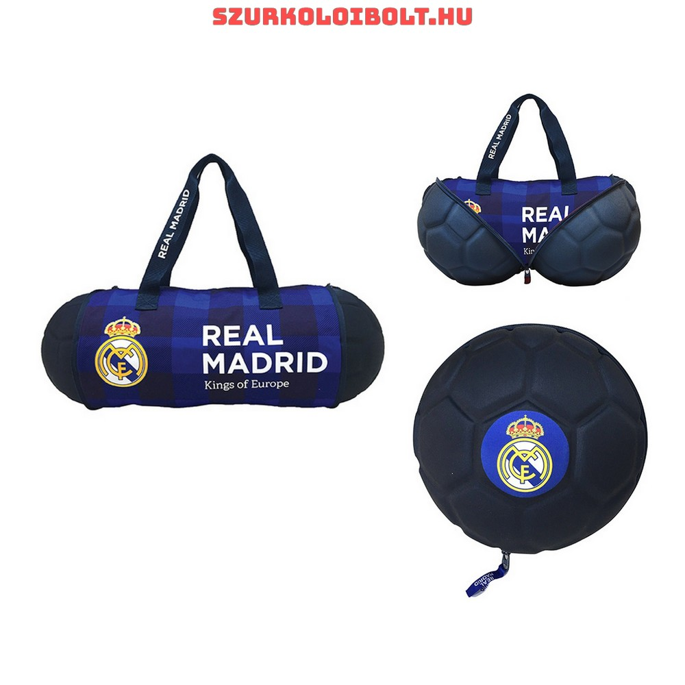 d67a8ed98f88 Real Madrid F.C. holdall with a washbag - Original football and NFL ...