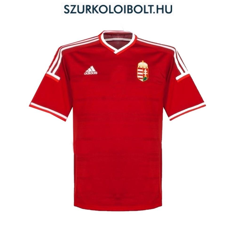 Adidas Hungary Home supporter Shirt (Red) - Original football and ... 0111c64904