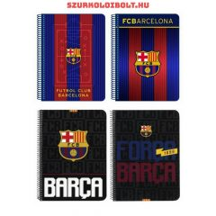 FC Barcelona checked excercise book  A/5