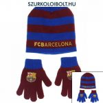 FC Barcelona Barcelona junior hat and gloves in different colours
