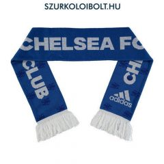 Adidas CHELSEA FC Official Blue Jacquard Scarf NR Knit