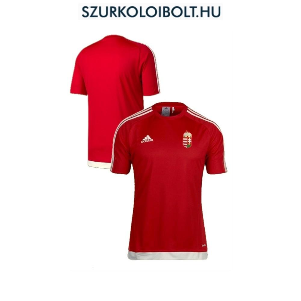Adidas Hungary Home junior supporter Shirt (Red) - Original football ... 6bc5c7901c