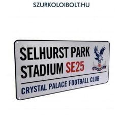 Crystal Palace Metal Street Sign