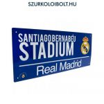 Real madrid Metal Street Sign
